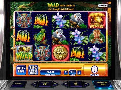 wms jungle wild slot machine gamehouse