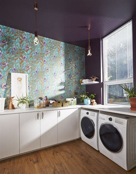 wallpaper in kitchen ideas beautiful kitchen wallpaper ideas for every furnishing