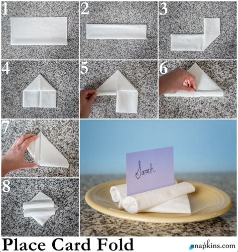 Fancy Ways To Fold Paper Napkins - paper napkin folding fancy napkin folds napkins