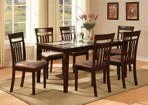 cheap glass dining room sets cheap dining sets for 6 wood dining room tables and