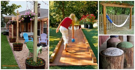 how to decorate backyard 10 fantastic diy wooden projects for your yard you should