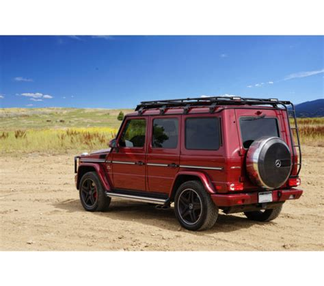 G Wagon Roof Rack by Mercedes G Wagon 183 Stealth Rack 183 4 Independent Led Lights
