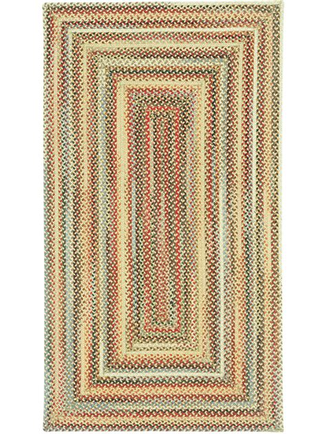 cottage rugs gold portland braided rug cottage home 174