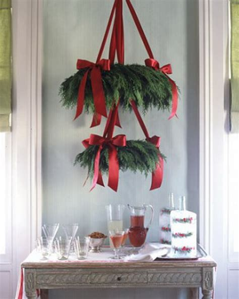 easy christmas decorating ideas home 50 beautiful christmas home decoration ideas from martha