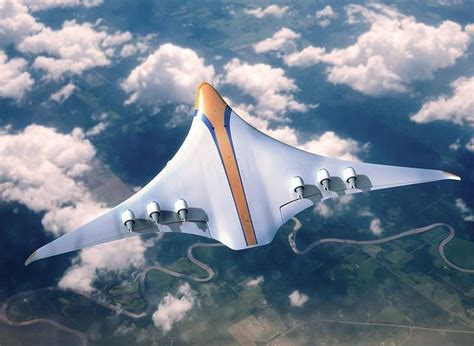 what commercial aircraft will look like in 2050 wordlesstech futuristic concept plane for 2050