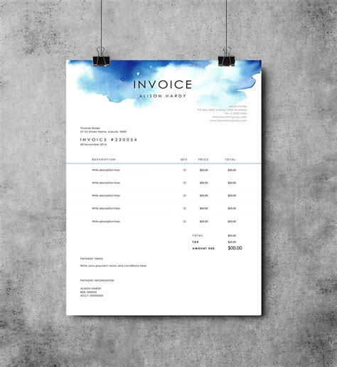 invoice layout ideas best 25 microsoft word invoice template ideas on