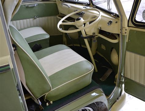 volkswagen kombi interior vw cer interior cer van holiday pinterest