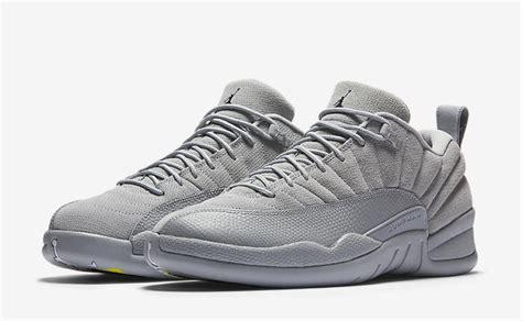 Air 12 Retro Grey air 12 low wolf grey release date sneaker bar detroit