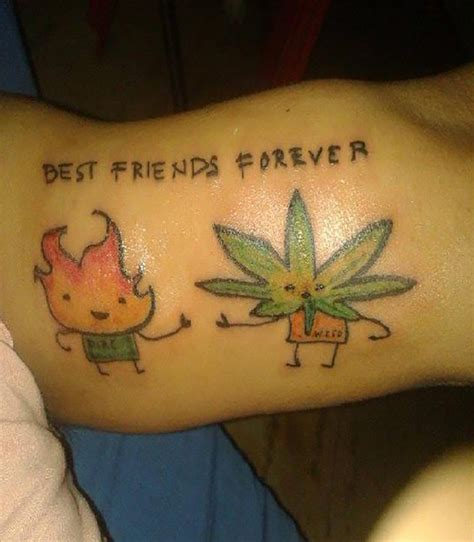 weedwednesday the best marijuana inspired tattoos on the