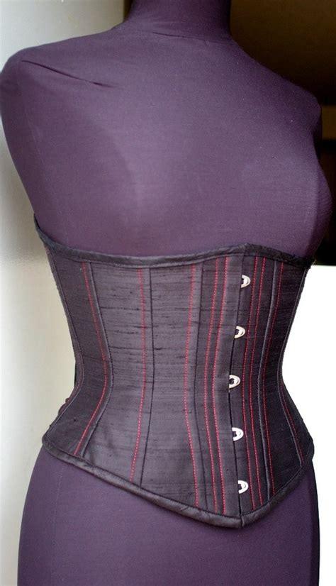 Handmade Corset - custom underbust corset your size waist