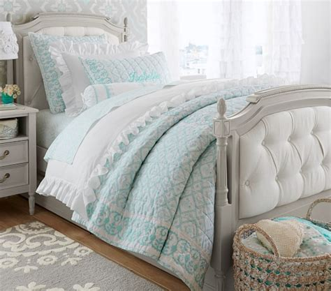 pottery barn bedroom sets blythe tufted bedroom set pottery barn kids