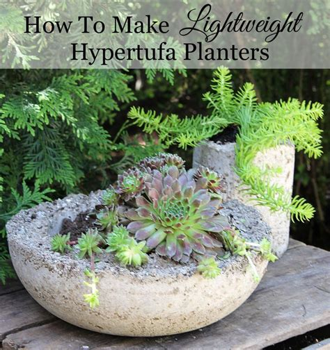 How To Make A Hypertufa Planter 1000 images about hypertufa papercrete and concrete on