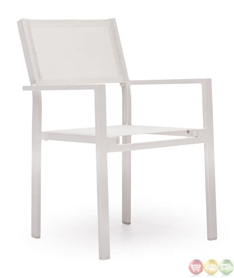 White Outdoor Dining Chair Silverstrand White Dining Chair Zuo Modern 703090 Modern Outdoor Furniture Free Shipping