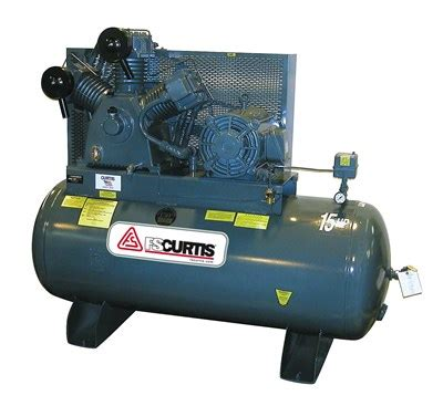 curtis air compressor 15 hp