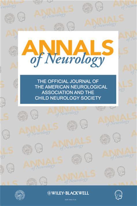 best neurology journals annals of neurology journal 1 0 24 9487 app for