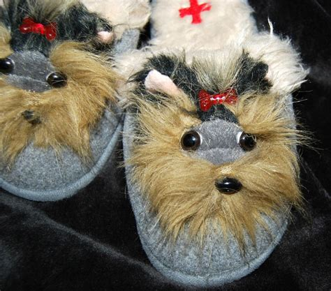 yorkie slippers 22 best dressed up yorkie images on