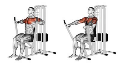 seated machine bench press exercise database chest jase stuart mens health mentor