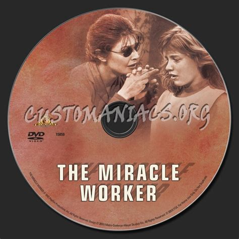 The Miracle Worker Free The Miracle Worker Dvd Label Dvd Covers Labels By Customaniacs Id 111659 Free