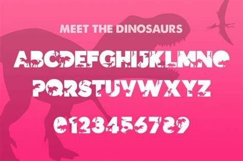 dinosauce typeface befontscom