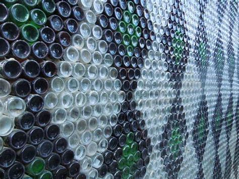 what are walls made of 13 best images about glass bottle wall on pinterest