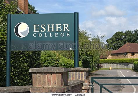 thames ditton college thames ditton uk stock photos thames ditton uk stock