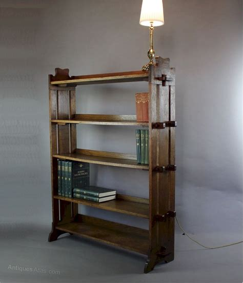 bookcase display arts and crafts oak c1900 antiques atlas 1247 best arts crafts craftsman mission furniture