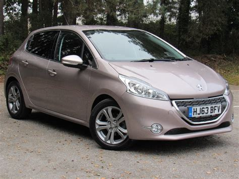 peugeot pink used pink peugeot 208 for sale dorset