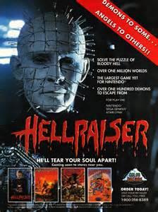 film horror game hellraiser unreleased 1990 video game lost media