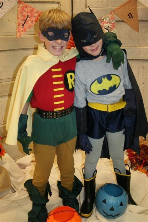 cute buddy costume batman robin halloween costumes