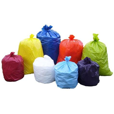 colored plastic bags colored garbage bags at rs 118 kilogram s कचर क थ ल