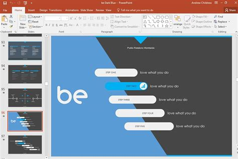 how to quickly change powerpoint templates download import