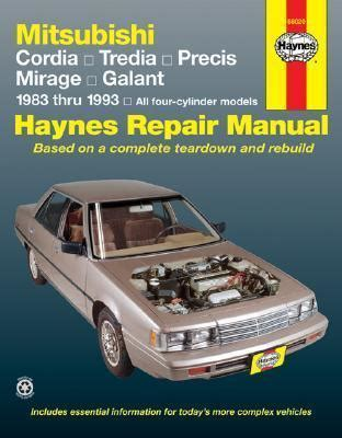 automotive service manuals 1993 mitsubishi precis auto manual mitsubishi cordia tredia precis mirage galant 1983 1993 automotive repair manual j h