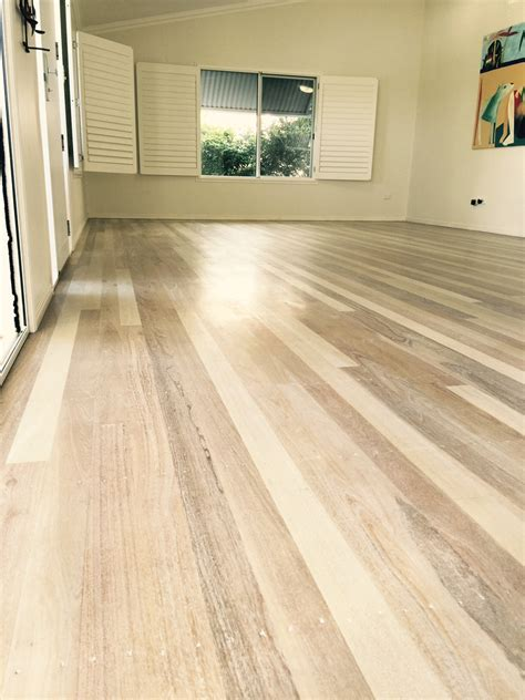 bleaching wood oak timber flooring