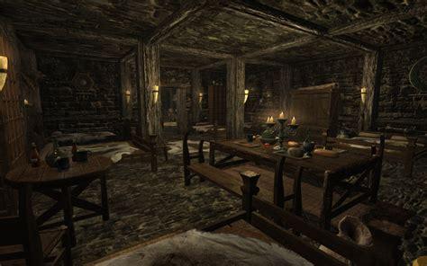 skyrim bedroom lakeview basement bedroom hearthfire at skyrim nexus mods and community