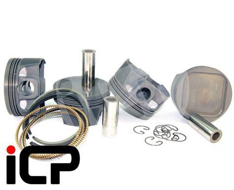 Piston Forged Brt54 5 Mm Pin 13 mahle 4032 forged piston set 92 5mm fits subaru impreza