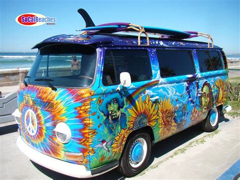 the coolest vw hippie in the world classic cars