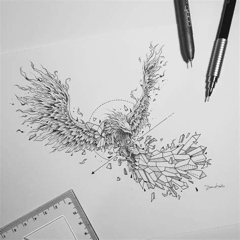 geometric tattoo manila geometric beasts phoenix and tattoo