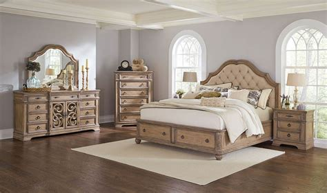 bedroom sets for less coaster ilana upholstered platform storage bedroom set