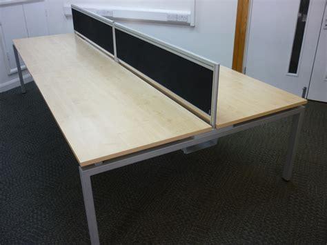 oblique bench verco oblique visual bench desking used office desks