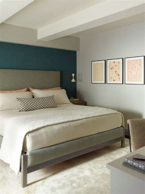 parete verde da letto idee per arredare la da letto con il verde petrolio