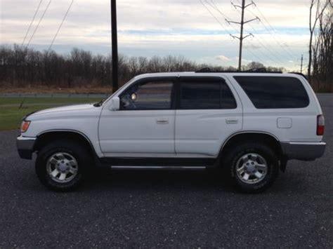 1997 Toyota 4runner Mpg Buy Used 1997 Toyota 4runner Sr5 Sport Utility 4 Door 3 4l