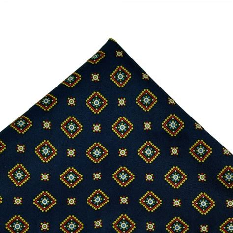 yellow pattern pocket square navy blue yellow green white patterned handkerchief