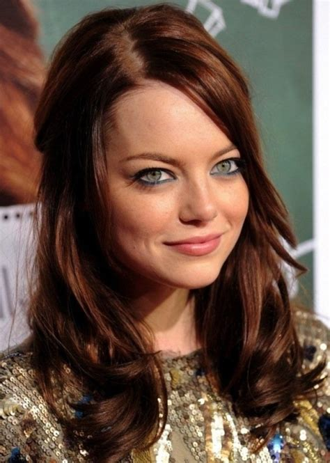 best hair color at 50 dark auburn 50 best brown hair color ideas herinterest