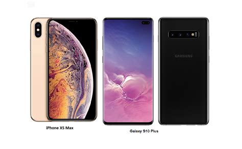 samsung galaxy    iphone xs max specs comparisons