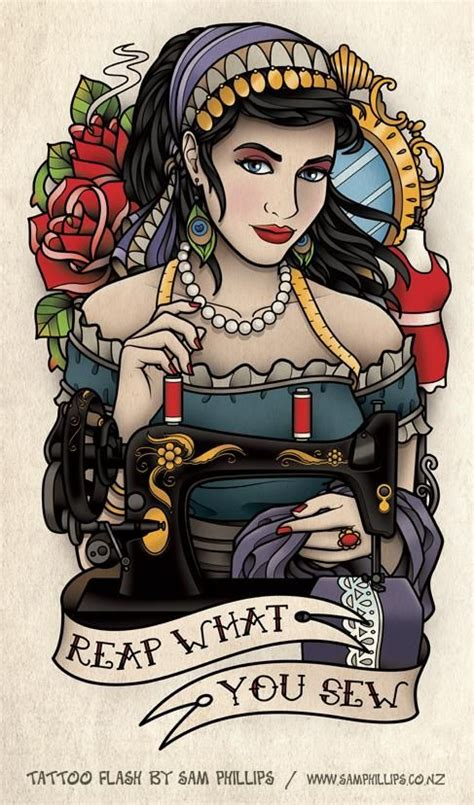 sam phillips tattoo designs 17 best images about sewing on vintage