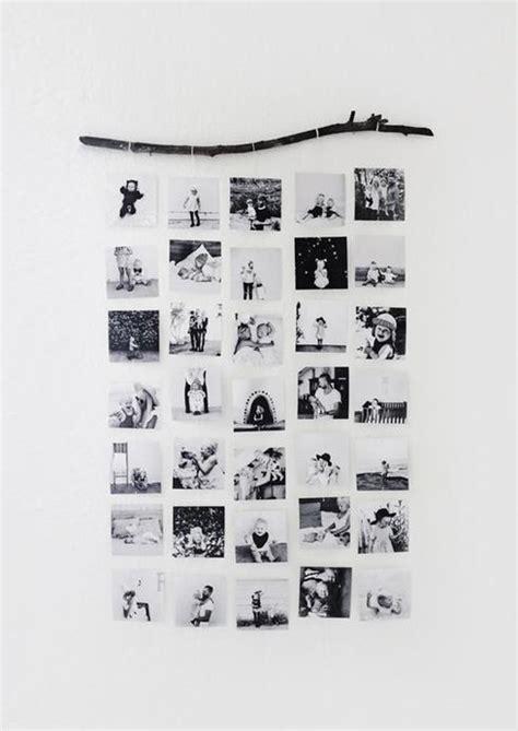 Accrocher Des Photos Au Mur by 10 Fa 231 Ons D Accrocher Des Photos Autrement Que Dans Des Cadres