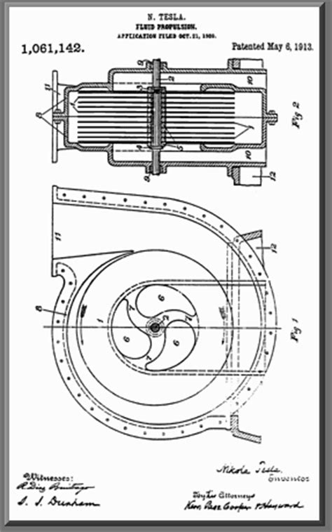 How Many Patents Does Tesla Tesla Turbine From Glossary Of Pumps
