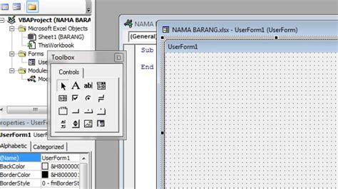 membuat aplikasi form sederhana di ms excel cara membuat aplikasi sederhana dengan ms excel youtube
