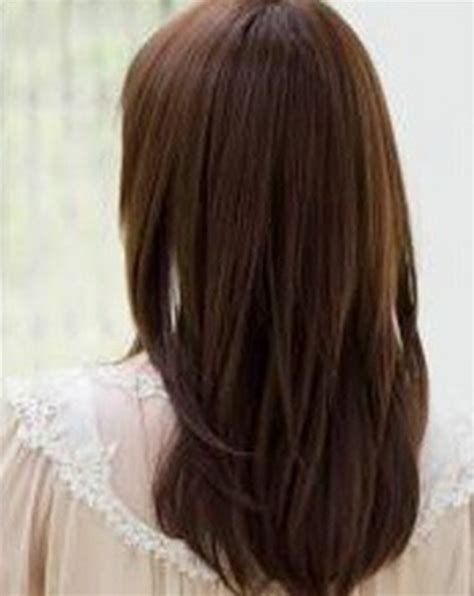 medium layered haircuts back view medium length layered hairstyles back view long hairstyles