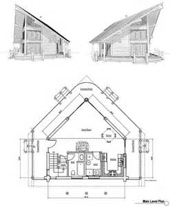 small a frame cabin floor plans the a frame plan pinterest